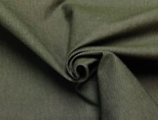 "Riverside Denim Olive Green #70600 Denim Like Multi-Use Fabric By The Yard 56""W"