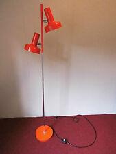 Stehlampe Lampe Leuchte rot chrom space age 70s 70er Design Panton Ära