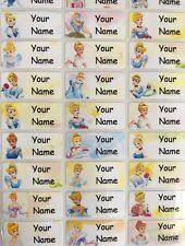 Cinderella, School Name Labels, name labels, Waterproof,
