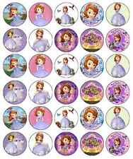 Sofia The First Disney Cupcake Toppers Edible Wafer Paper BUY 2 GET 3RD FREE!