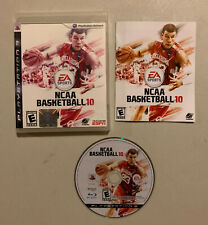 NCAA Basketball 10 Sony Playstation 3 Video Game ps3 2010 college