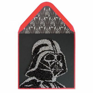 "Papyrus Birthday card -Disney Star Wars Darth Vader Crystal ""You are the Chosen"""