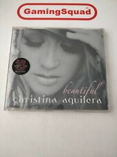 Beautiful, Christina Aquilera CD, Supplied by Gaming Squad