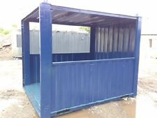 10ft x 8ft Anti Vandal Container smoking shelter hut steel