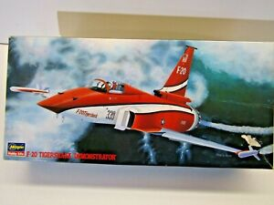 "Hasegawa 1:72 Scale Northrop F-20 Tigershark ""Demonstrator"" Model Kit # 02873"