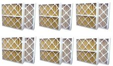 Ultra Premium MERV 11 Home Furnace Air Filters 20x20x1 Replacement - 6 Pack