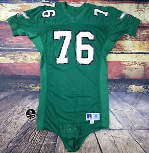 Philadelphia Eagles NFL Game Used Worn Football Jersey John Hudson #76