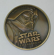 2005 Star Wars Target Exclusive Limited Edition Coin Revenge of the Sith R12306