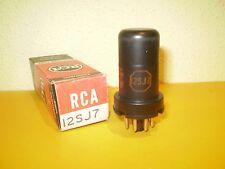 1 X 12SJ7-RCA-NOS/NIB-TUBE.