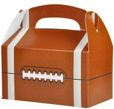36 FOOTBALL PARTY TREAT BOXES FAVORS GOODY BAG BAZAAR PRIZE GIFT BASKET 3 DOZEN