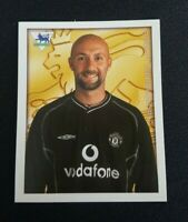 Merlin Premier League 2001 171 Fabien Barthez Manchester United Topps Panini