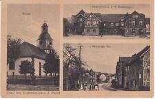 AK Gruß aus Lispenhausen an der Fulda -Geschäftshaus J.H. Wassermann-
