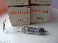 EF73 MULLARD RED BOX   NOS  VALVE TUBE 1 PC
