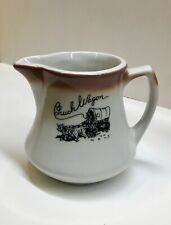 Vintage Mayer China Restaurant Creamer Chuck Wagon Restaurant Rare Hard To Find