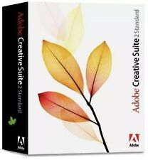 Adobe Creative Suite 2 cs2-Photoshop, ILLUSTRATOR & InDesign, consegna e-mail
