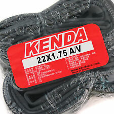 x2 KENDA 22x1.75 A/V Schrader Valve Bike Bicycle Cycling Inner Tyres Tubes Tires