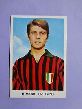 FIGURINA CALCIATORI SOCCER STICKERS FOOTBALL EDIS MILAN RIVERA 1968-69 NEW-FIO
