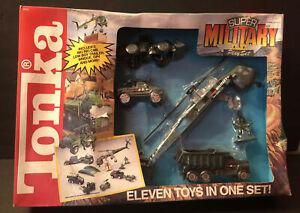 Tonka Super Military Play Set 1991 Damaged Box