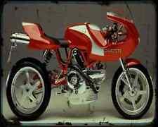 Ducati Mh900E 1 A4 Photo Print Motorbike Vintage Aged