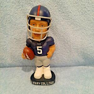 KERRY COLLINS New York Giants NFL AGP Bobblehead, Penn State, Carolina Panthers