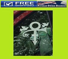 PRINCE R.I.P. DOVES CRY DECAL STICKER VINYL WINDOW BUMPER Memorial Purple Rain