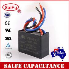 SaiFu CBB61 1.5uF+2.5uF 3 Wires AC 250V 50/60Hz Capacitor for Ceiling Fan OZ