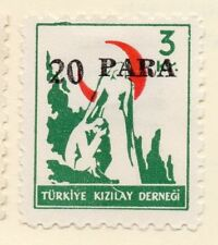 Turkey 1950-52 Early Issue Fine Mint Hinged 20p. Surcharged 085931
