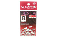 Shout 74-PR Press Ring Standard Solid Ring Size 8 mm (5408)