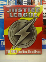 Justice League The Flash Logo Metal Bottle Opener from Diamond Select
