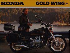 1979 HONDA GL1000 GOLD WING New Original SALES BROCHURE
