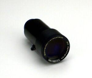 Lente 8mm Bauer Proyector Películas Schneider Kreuznach Mc Xenovaron 1,1/11 -30