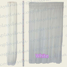 """40"""" White Heat Stylable Hair Weft Extention (3 pieces) Cosplay DNA 8101"""