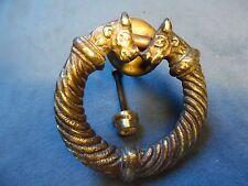 Ancien heurtoir De Porte En Bronze Old Knocker XXème XIXème Siècle