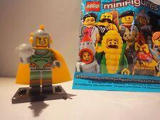 LEGO MINIFIGURES-SERIE 17 – Retrò Space Hero con Blaster.