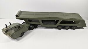 Vintage U.S. Army Combat Carrier - Tin - Friction - Missing Pieces
