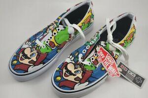 Vans Nintendo Mario & Friends + Super Mario Shoes with Lunch Box/Pins
