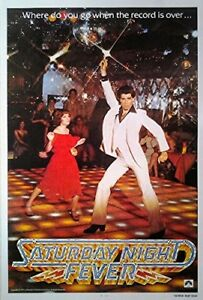 Filmposter USA 68x98: Saturday Night Fever [1977]