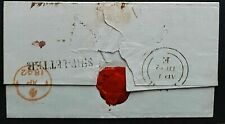NSW Pre stamp ship letter Sydney August 4th 1841 to Bath arrived 1st April 1842