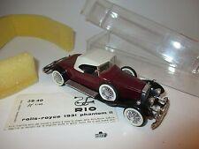 RR Rolls Royce Phantom 2 II Cabriolet Convertible Corniche (1931), río en 1:43!