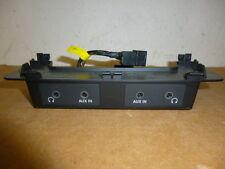Audi Q7 4L Bedieneinheit Kopfhöreranschlussbuchse Kopfhörer 4L0035599 4L0035600