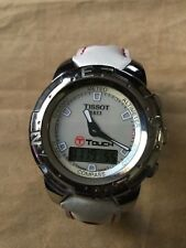 Tissot T-Touch Limited Edition Danica Patrick Mother-Of-Pearl Dial Titanium Stra