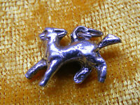 D VARIOUS VINTAGE STERLING SILVER CHARM DRAGON FISH HORSE SNAIL TIGER DOVE DEER