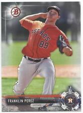 Franklin Perez Houston Astros 2017 Bowman Draft Baseball