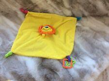 Padgett Bros Yellow Lion Comforter Blankie