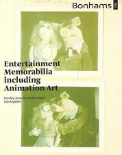 Bonhams Entertainment Memorabilia & Animation Art Auction Catalog June 2012