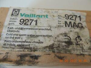 VAILLANT ANSCHLUSS Kalt-und Warmwasseranschluß MAG 9271,  NEU