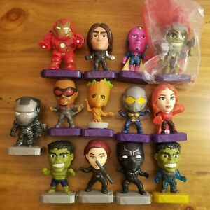 McDonalds Happy Meal Marvel Toys Lot of 13 - Avengers End Game 2019 Heroes 2020