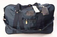 NWT PIERRE CARDIN Navy Nylon Large Shoulder Carry on Luggage Locking Bag 18021