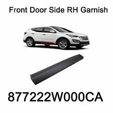 Genuine Front Door Side Rh Garnish Oem 877222W000Ca For Hyundai Santa Fe 13-16