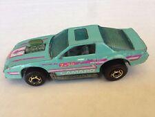 Hot Wheels 1980s Hot Ones Blown Camaro Z-28 , Turquoise Aqua, I combine shipping
